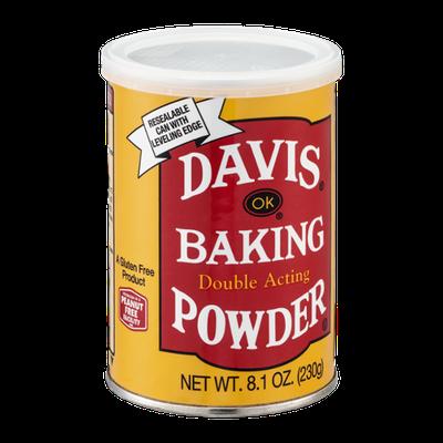 Davis Baking Powder Double Acting