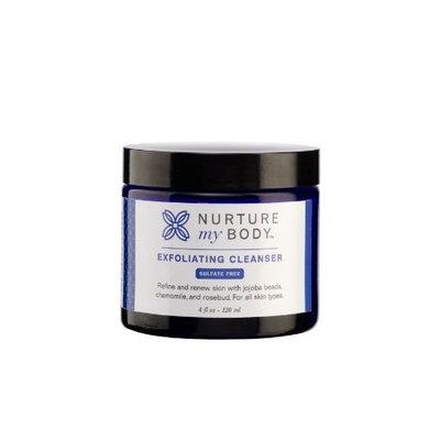 Nurture My Body Organic Exfoliating Cleanser for All Skin Types