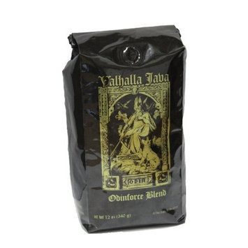 Valhalla Java Ground Coffee by Death Wish Coffee Company, Fair Trade and USDA Certified Organic - 12 Ounce Bag []