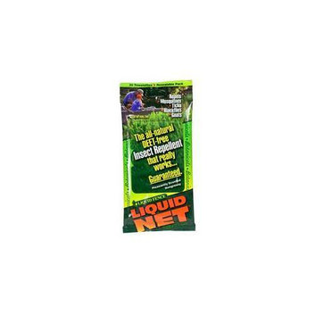 Liquid Fence 145 Liquid Net Insect Repellent Towelettes - 30 Count