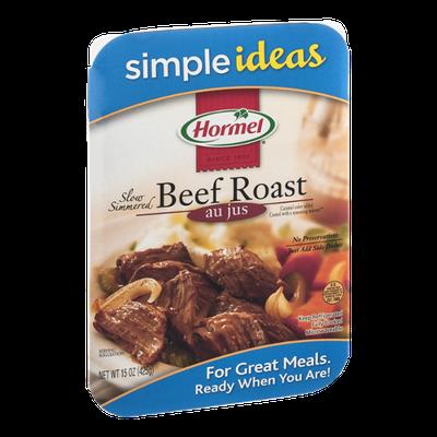 Hormel Simple Ideas Slow Simmered Beef Roast Au Jus