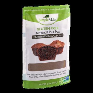 Simple Mills Gluten Free Almond Flour Mix Chocolate Muffin & Cupcake