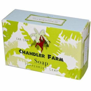 Chandler Farm Bar Soap Peppermint Leaf 4 oz