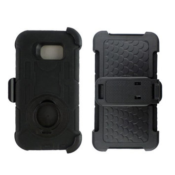 The Case Doctor TCD Galaxy Note 5 Industrial Heavy Duty Belt Clip Case Screen Protector & Stylus