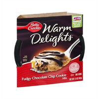 Betty Crocker™ Warm Delights Fudgy Chocolate Chip Cookie Mix