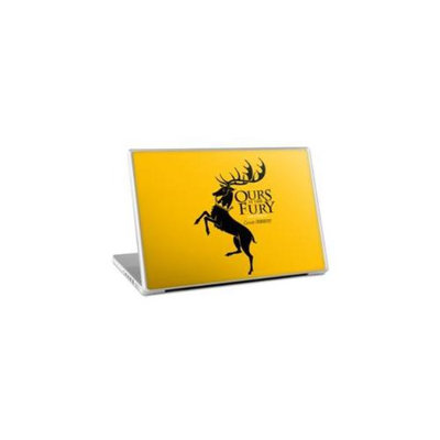 Zing Revolution MS-GOT20011 Game of Thrones Premium Vinyl Adhesive Skin for 15-Inch Laptops, Baratheon Sigil