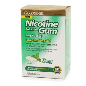 Good Sense Nicotine  Polacrilex Gum