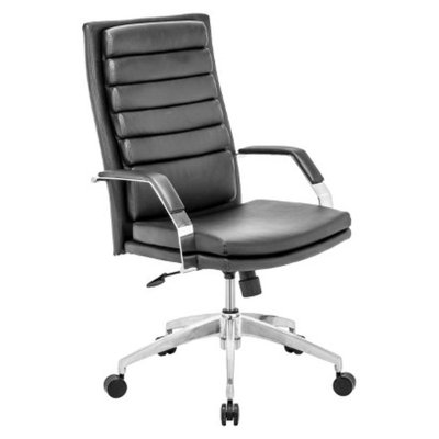 Office Chair: Zuo Modern Director Comfort Office Chair - Black