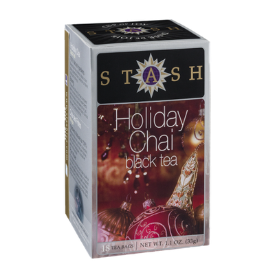 Stash Holiday Chai Black Tea - 18 CT