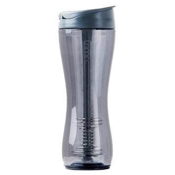 Trimr Protein Shake Bottle, Graphite, 24 Fl Oz, 1 ea