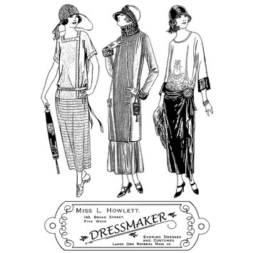 Cam Consumer Products, Inc. Crafty Individuals Unmounted Rubber Stamp The Dressmaker