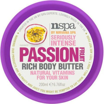 NSPA by Nirvana Spa Passion Fruit Rich Body Butter, 6.76 fl oz