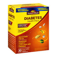 Nature Made Daily Diabetes Health Pack - 30 PK