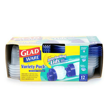 Gladware Containers & Lids Variety Pack - School Supplies