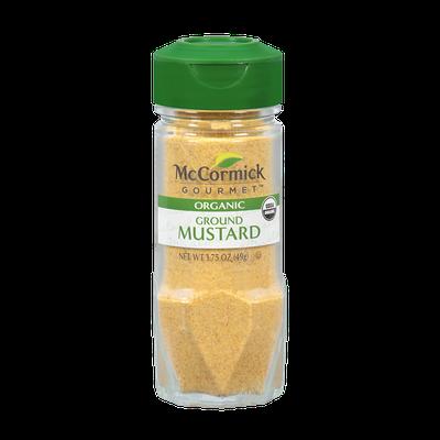 McCormick Gourmet™ Organic Mustard, Ground