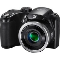 GE Black X450 Power PRO Digital Camera with 16 Megapixels, 25x Optical Zoom, 42mm Wide-Angle Lens