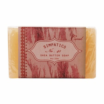 Simpatico Fine Bar Soap, No. 45 Coral, 8 oz