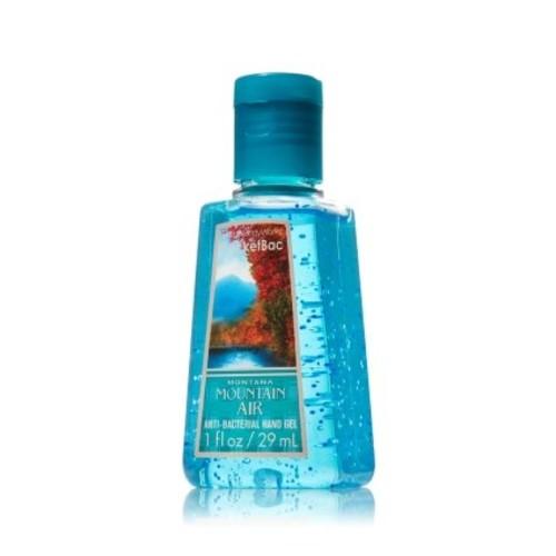 Bath & Body Works Montana Mountain Air Anti-bacterial Hand Gel 1 Fl Oz Bath and Body Works