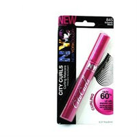 New York Color City Curls Mascara, Curling, Extreme Black 845, 0.27 oz (8 ml)