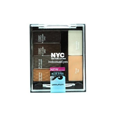 NYC Compact Palette, Smokey Blues for Blue Eyes, 1 set