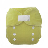 Thirsties Duo Fab Fitted Cloth Diapers, Honeydew, Size One (6-18 lbs) (Discontinued by Manufacturer)