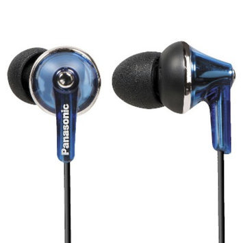 Panasonic ErgoFit Plus Long Port Fashion In-Ear Earbuds - Blue (RP-