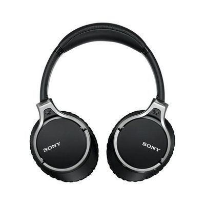 Sony MDR-10RNC Premium Over-Ear Noise Cancelling Headphones with In-Line Mic and Controls (Black)