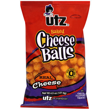 Utz Baked Cheese Balls, 4.5 oz