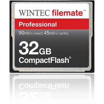 Wintec FileMate 32GB Compact Flash Professional Memory Card