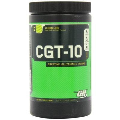 Optimum Nutrition CGT-10 Creatine Glutamine and Taurine Lemon Lime -- 1.32 lbs