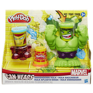 Play-doh Play-Doh Smashdown Hulk Featuring Marvel Can Heads - HASBRO, INC.