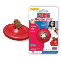 KONG Goodie Ship Dog Toy, Small, Red