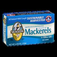 Season Mackerels Skinless & Boneless In Olive Oil