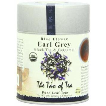 The Tao of Tea, Blue Flower Earl Grey Black Tea, Loose Leaf, 3.5 Ounce Tin