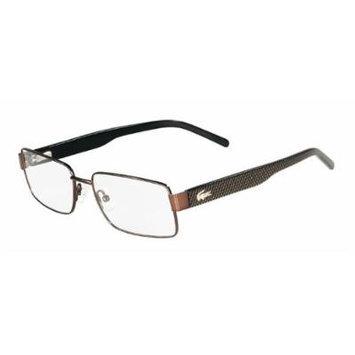 LACOSTE L2138 Eyeglasses 210 Brown Demo Lens 55-16-140