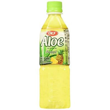 OKF Aloe Vera Drink Pineapple 16.9 Oz (Case of 10)