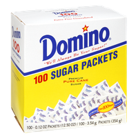 Domino Pure Cane Sugar Packets