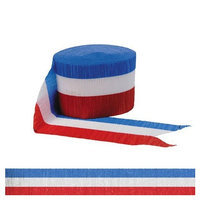 Factory Card and Party Outlet Red White and Blue Streamer 42ft