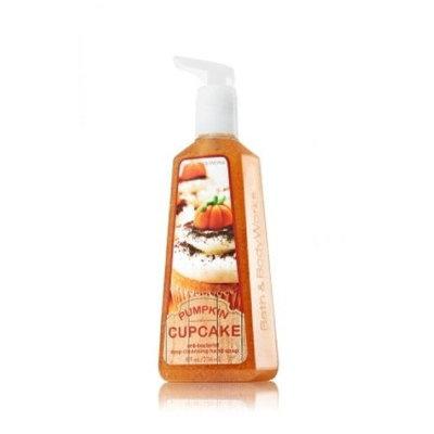 Bath & Body Works Pumpkin Cupcake Anti-bacterial Deep Cleansing Hand Soap 8 Fl Oz Bath and Body Works