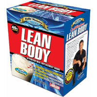 Labrada Nutrition Lean Body Meal Replacement Powder, Vanilla, 4.2-Ounce Packets (Pack of 20)