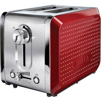 Bella Dots 2 Slice Toaster - Orange