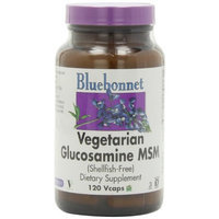 Blue Bonnet Bluebonnet Vegetarian Glucosamine MSM (Shellfish Free) - 120 Vcaps