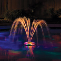 Great American Small Underwater Floating Light and Fountain for Pools