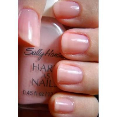 Sally Hansen Hard As Nails Color Nail Enamel-Sheer Strawberry, 0.45 Fluid Ounce (2 Pack)
