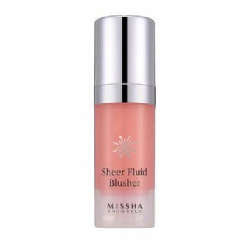 [Missha] the Style Sheer Fluid Blusher_10ml #3 Sugar Apricot