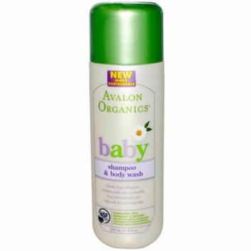 Avalon Organics Tear-Free Baby Shampoo and Body Wash