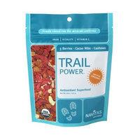 Navitas Naturals Trail Power, Organic Raw Trail Mix - 3 Berries-Cacao Nibs-Cashews 8 oz