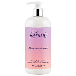 philosophy live joyously firming body emulsion, 16 oz