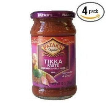 Pataks Tikka Paste 10 Oz (Pack of 4)