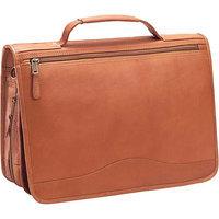 Clava Vachetta Leather Expandable Briefcase